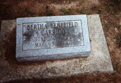 Bertha <i>Benefiel(d)</i> Carrico