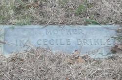 Ina Cecile <i>Rickerson</i> Brinlee