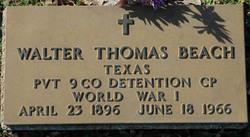 Walter Thomas Beach