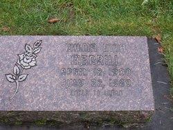Wilma Etta <i>Lincoln</i> Merrill