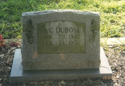 Albert Clem DuBose, Jr.