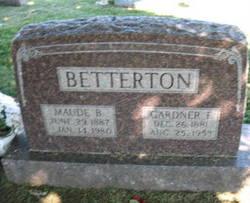 Maude B <i>DeMoss</i> Betterton