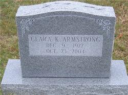 Clara K Armstrong