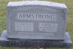 Fannie L <i>Skidmore</i> Armstrong