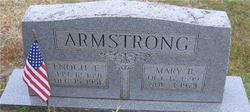 Mary Bell <i>Armstrong</i> Armstrong