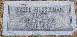 Hazel Musselman <i>Armstrong</i> Platt