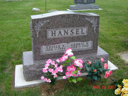 Cecile Effie <i>Harris</i> Hansel