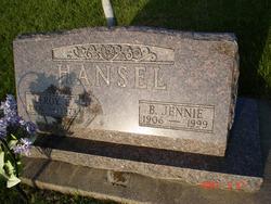Beatrice Jennie <i>Mangold</i> Hansel