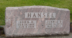 Jennie Diana <i>Grace</i> Hansel