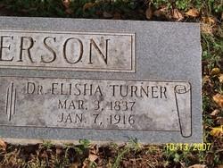 Dr Elisha Turner Anderson