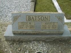 Anna Elizabeth <i>Drummond</i> Batson