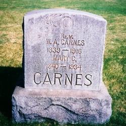 Rev Willis Alexander Carnes