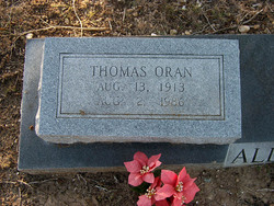Thomas Oren Allison