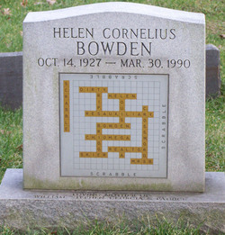 Helen Louise <i>Cornelius</i> Bowden