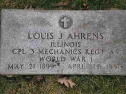 Louis J Ahrens