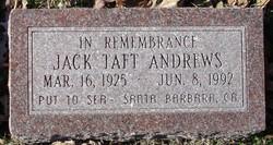 Jack <i>Taft</i> Andrews