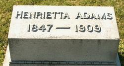 Henrietta <i>Truman</i> Adams