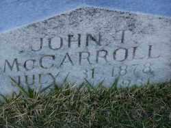 John Thomas McCarroll