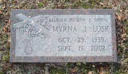 Myrna Jo <i>Allford</i> Lusk