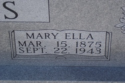 Mary Ella <i>Faulk</i> Davis