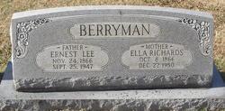 Ella <i>Richards</i> Berryman
