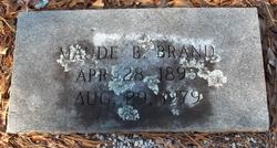 Maude <i>Byrd</i> Brand