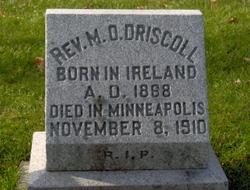 Rev M. O. Driscoll