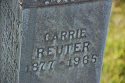 Carrie I. <i>Henninger</i> Reuter