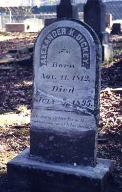 Alexander K. Dickey