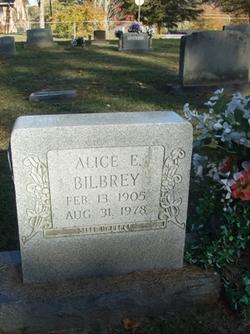 Alice Elsie <i>England</i> Bilbrey
