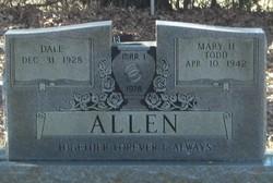 Mary H <i>Todd</i> Allen