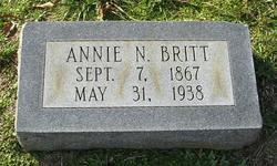 Annie B. <i>Newell</i> Britt