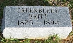 Greenberry Britt