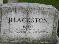 Clara Caroline <i>Hahn</i> Blackston