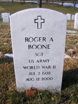 Sgt Roger Arthur Boone