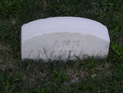 Ann Amanda <i>Mousley</i> Cannon