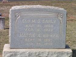 Martha Ann Mattie <i>Miller</i> Early