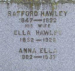 Ella <i>Hawley</i> Chittenden