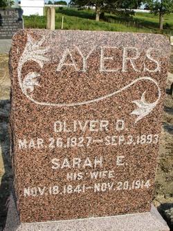 Sarah Ellen <i>Shumaker</i> Ayers