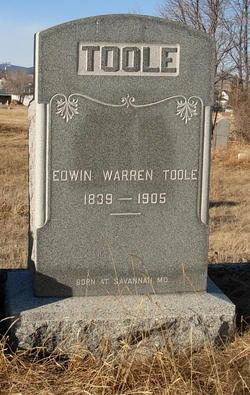 Edwin Warren Toole
