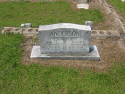 Willie Frances Millieander <i>Andrews</i> Anderson