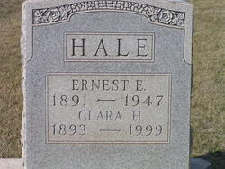 Clara E. <i>Herring</i> Hale