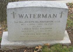 Louise Kyle <i>Baldwin</i> Waterman