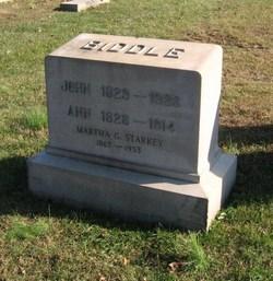 Martha G. <i>Biddle</i> Starkey
