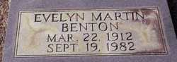 Evelyn <i>Martin</i> Benton