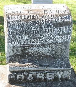Mary Malisia <i>Gamble</i> Darby