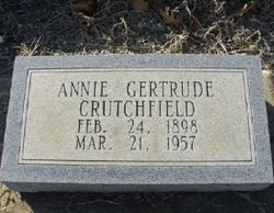 Annie Gertrude Crutchfield