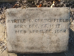 Myrtle G Crutchfield