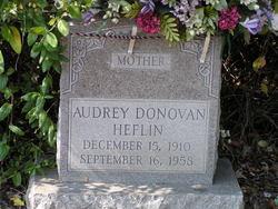 Audrey <i>Donovan</i> Heflin