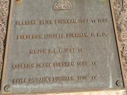 Roderick Deane Burnham